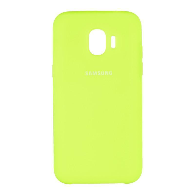 Чехол Original Soft Case Samsung J250 (J2-2018) Lime (39)