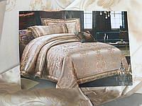 Постельное белье сатин жакард Tiara, фото 1