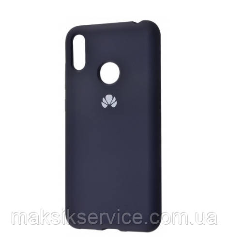 Чехол Silicone Cover Huawei P30 Lite black
