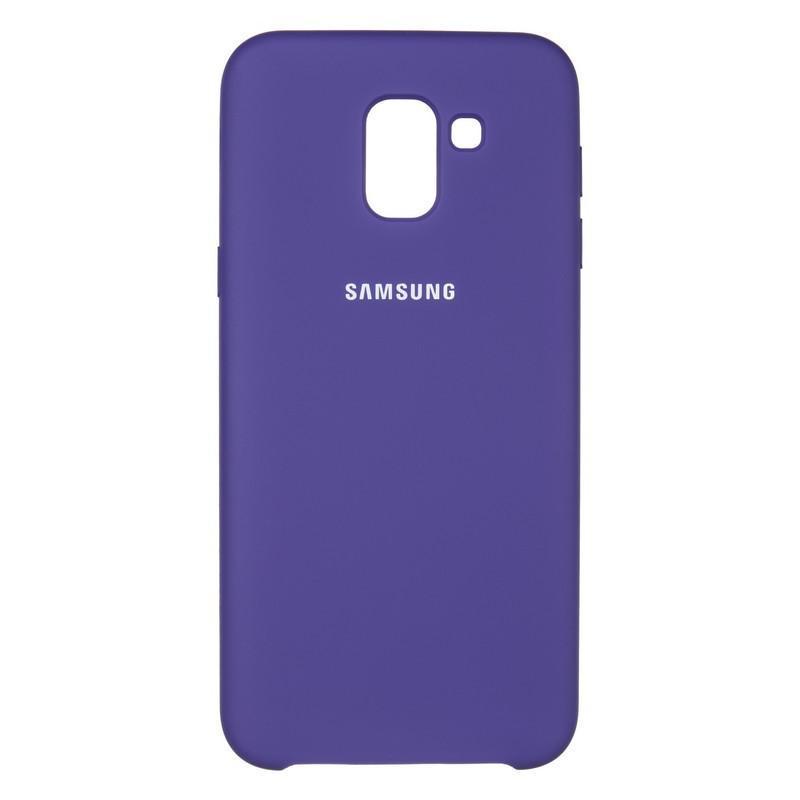 Чехол Original Soft Case Samsung J600 (J6-2018) Violet (36)
