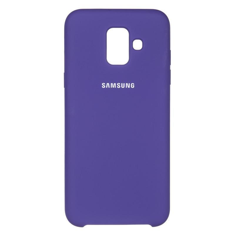Чехол Original Soft Case Samsung A600 (A6-2018) Violet (36)