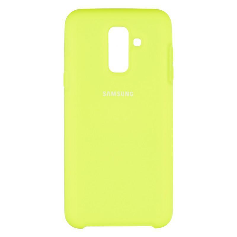 Чехол Original Soft Case Samsung A605 (A6 Plus-2018) Lime (39)