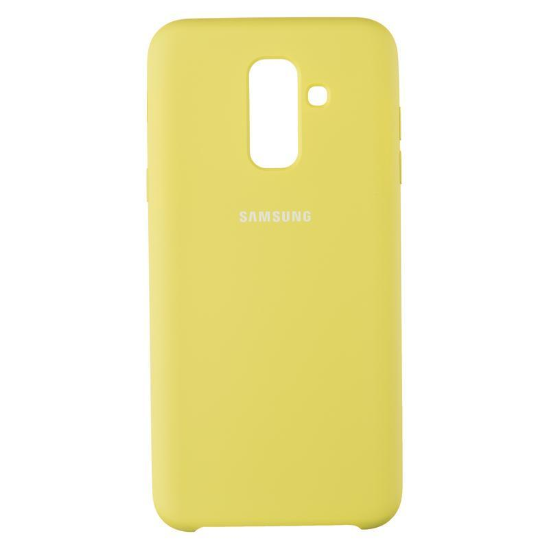 Чехол Original Soft Case Samsung A605 (A6 Plus-2018) Light Green (1)