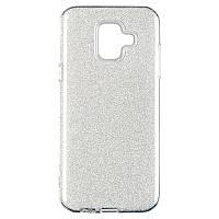 Чехол Remax Glitter Silicon Case Samsung J600 (J6-2018) Silver