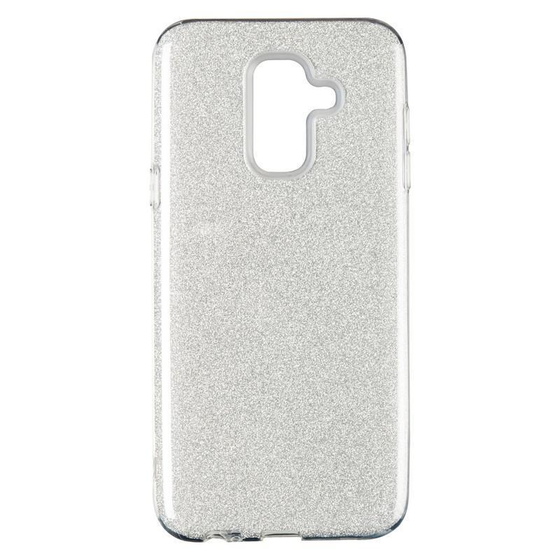 Чехол Remax Glitter Silicon Case Samsung J400 (J4-2018) Silver