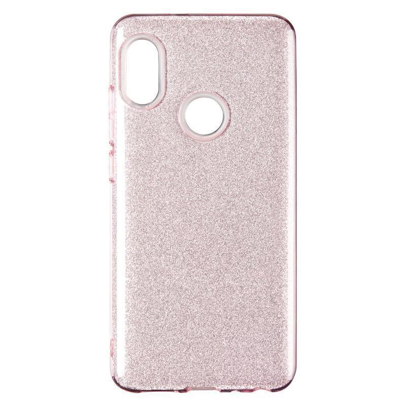 Чехол Remax Glitter Silicon Case Xiaomi Mi A2/Mi6x Pink