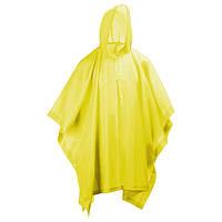 🔝 Дождевик туристический пончо с капюшоном / накидка от дождя, Цвет - Желтый с доставкой по Украине   🎁%🚚