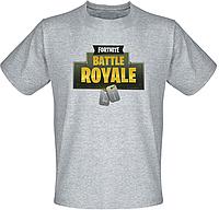 Футболка Fortnite Battle Royale Logo (меланж)