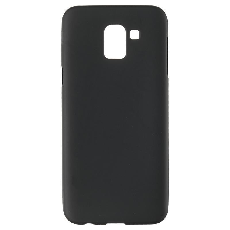Чехол Original Silicon Case Samsung J600 (J6-2018) Black