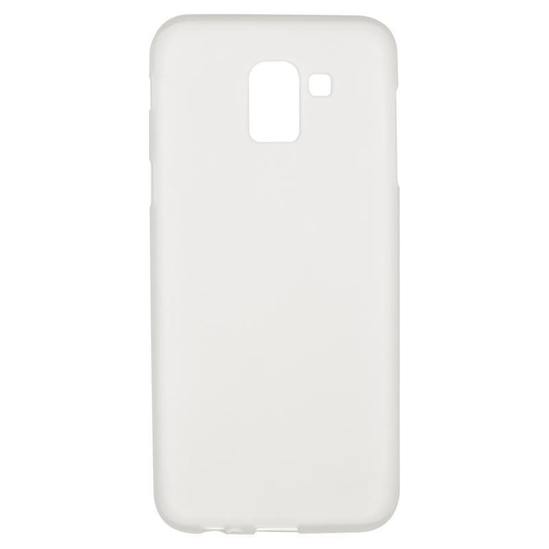 Чехол Original Silicon Case Samsung J600 (J6-2018) White