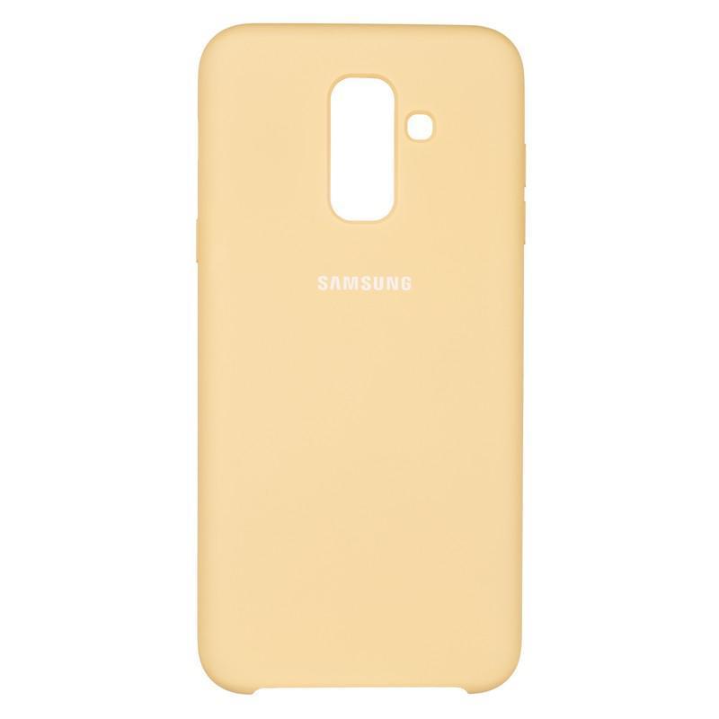 Чехол Original Soft Case Samsung A605 (A6 Plus-2018) Gold (28)