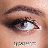 Цветные линзы ЛЮКС качество Rainbow Lovely Ice Турция