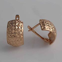 Золотые серьги СП20311А