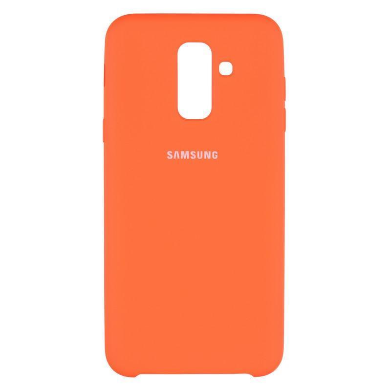 Чехол Original Soft Case Samsung A605 (A6 Plus-2018) Orange (38)