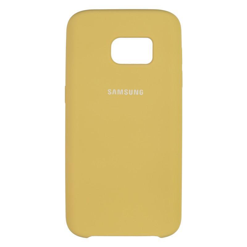 Чехол Original Soft Case Samsung G930 (S7) Gold (28)