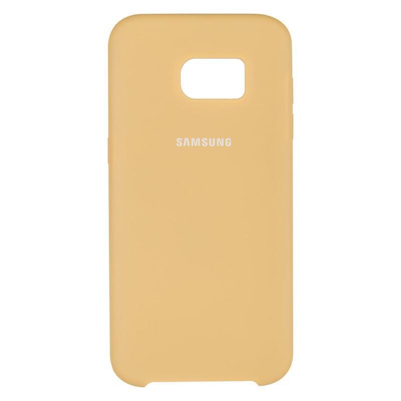 Чехол Original Soft Case Samsung G935 (S7 Edge) Gold (28)