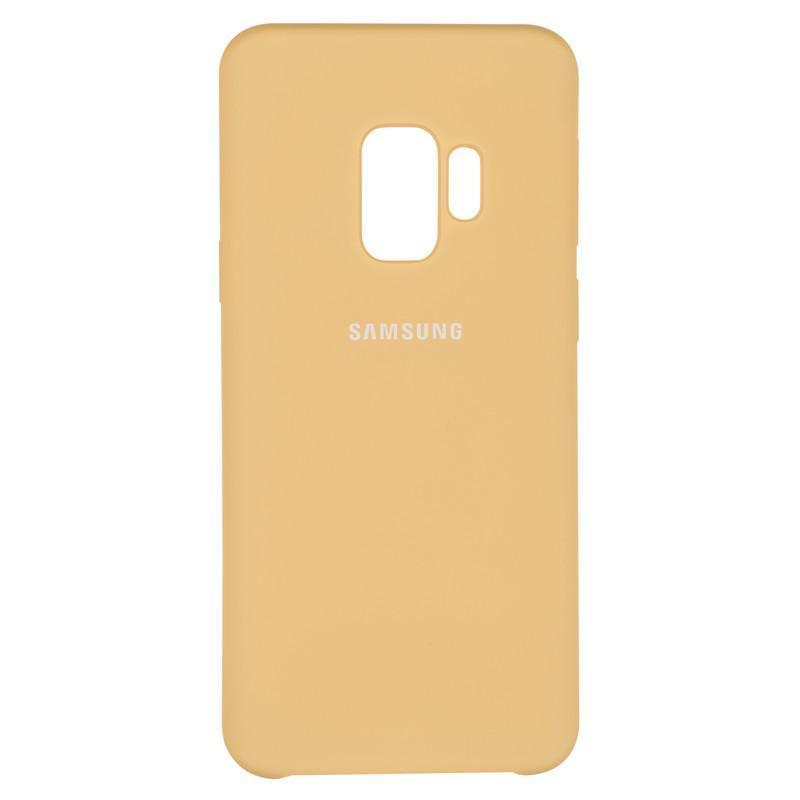 Чехол Original Soft Case Samsung G960 (S9) Gold (28)