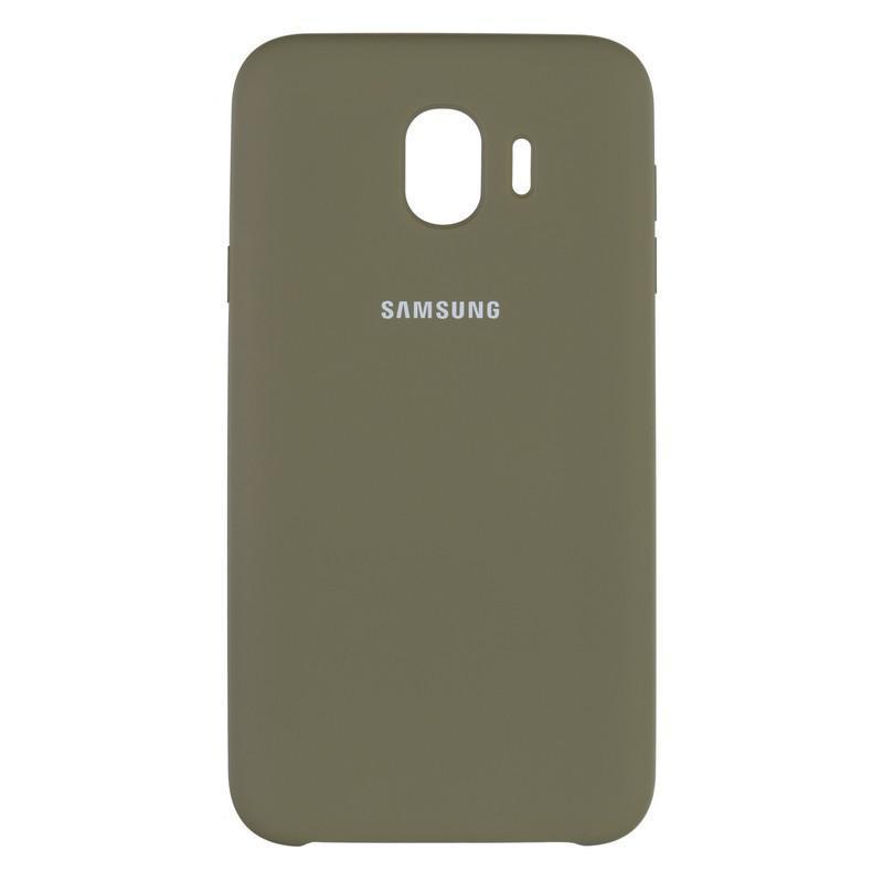 Чехол Original Soft Case Samsung J400 (J4-2018) Olive Green (41)