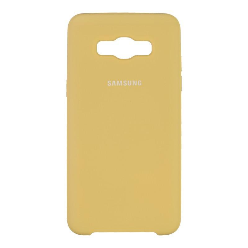 Чехол Original Soft Case Samsung J510 (J5-2016) Gold (28)