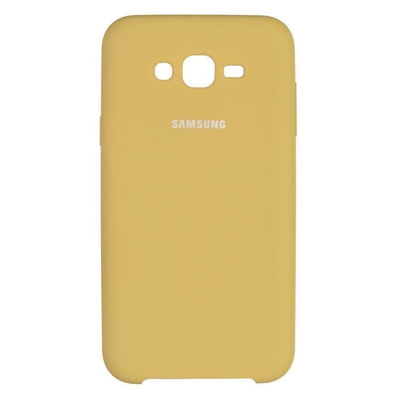 Чехол Original Soft Case Samsung J700 (J7) Gold (28)