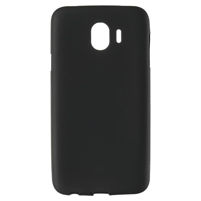 Чехол Original Silicon Case Samsung A605 (A6 Plus-2018) Black