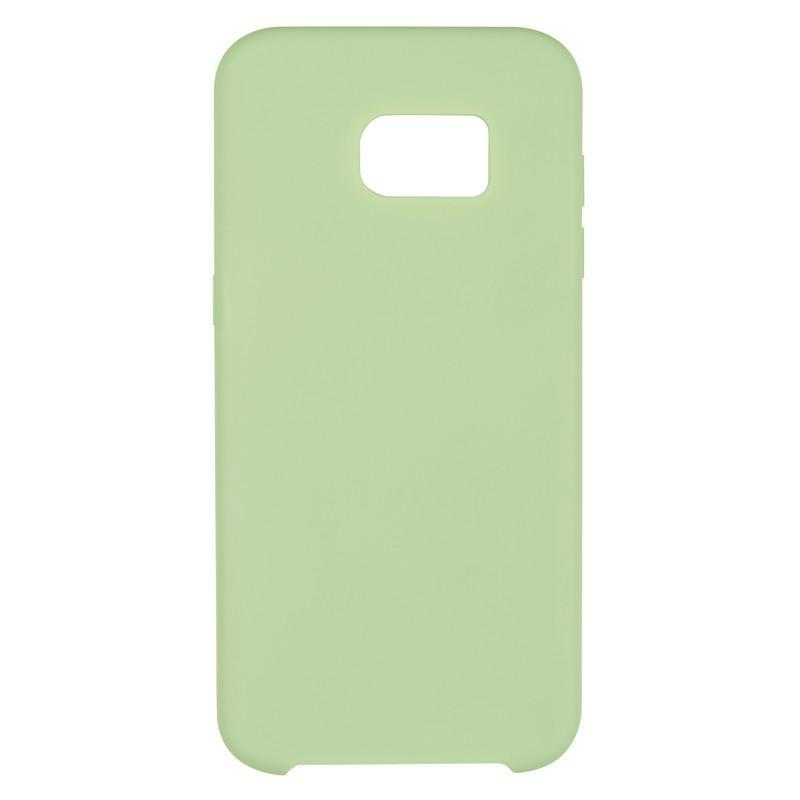 Чехол Original Soft Case Samsung G935 (S7 Edge) Light Green (34)