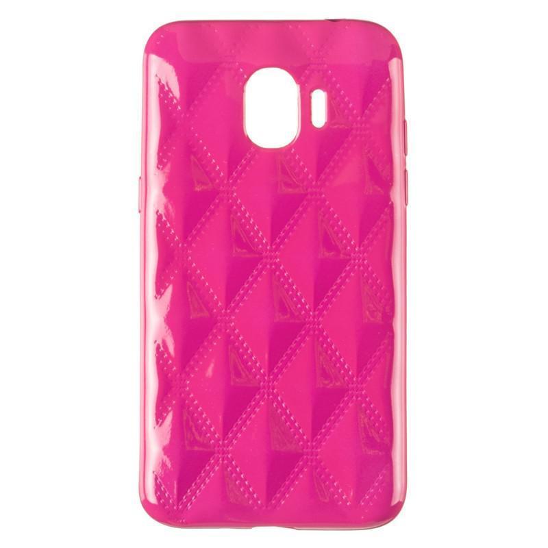 Чехол Baseus Rhombus Case for Samsung J250 (J2-2018) Pink