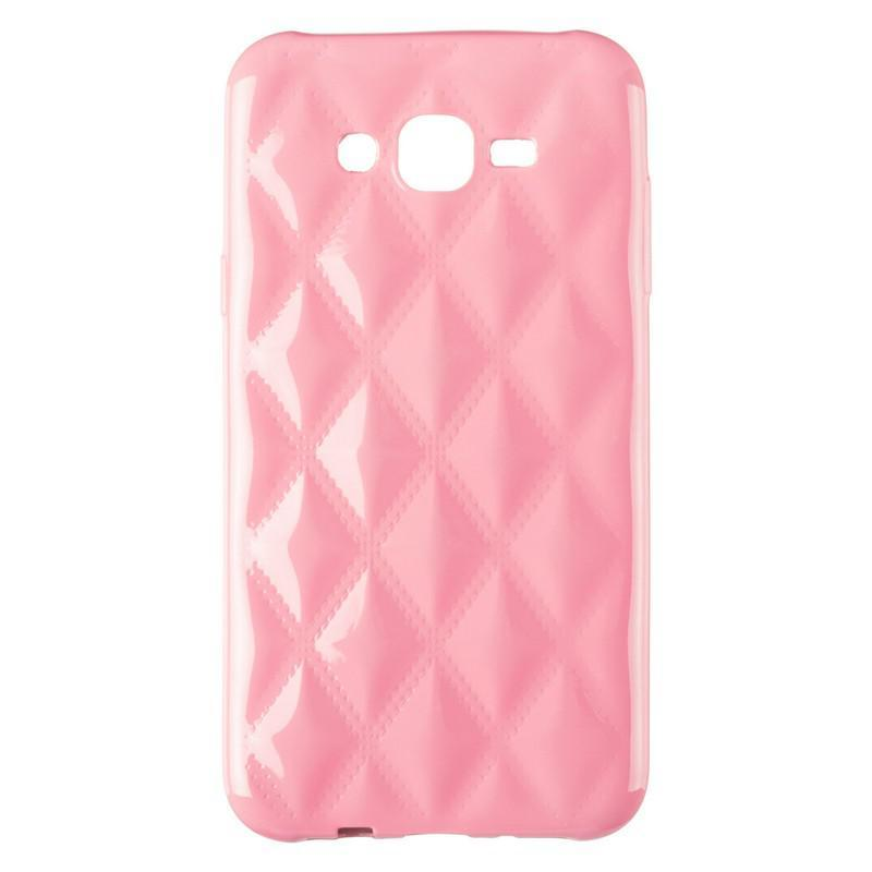Чехол Baseus Rhombus Case for Samsung J700 (J7) Light Pink