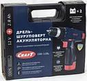 Шуруповерт аккумуляторный  Craft CAS 12 SL, фото 3
