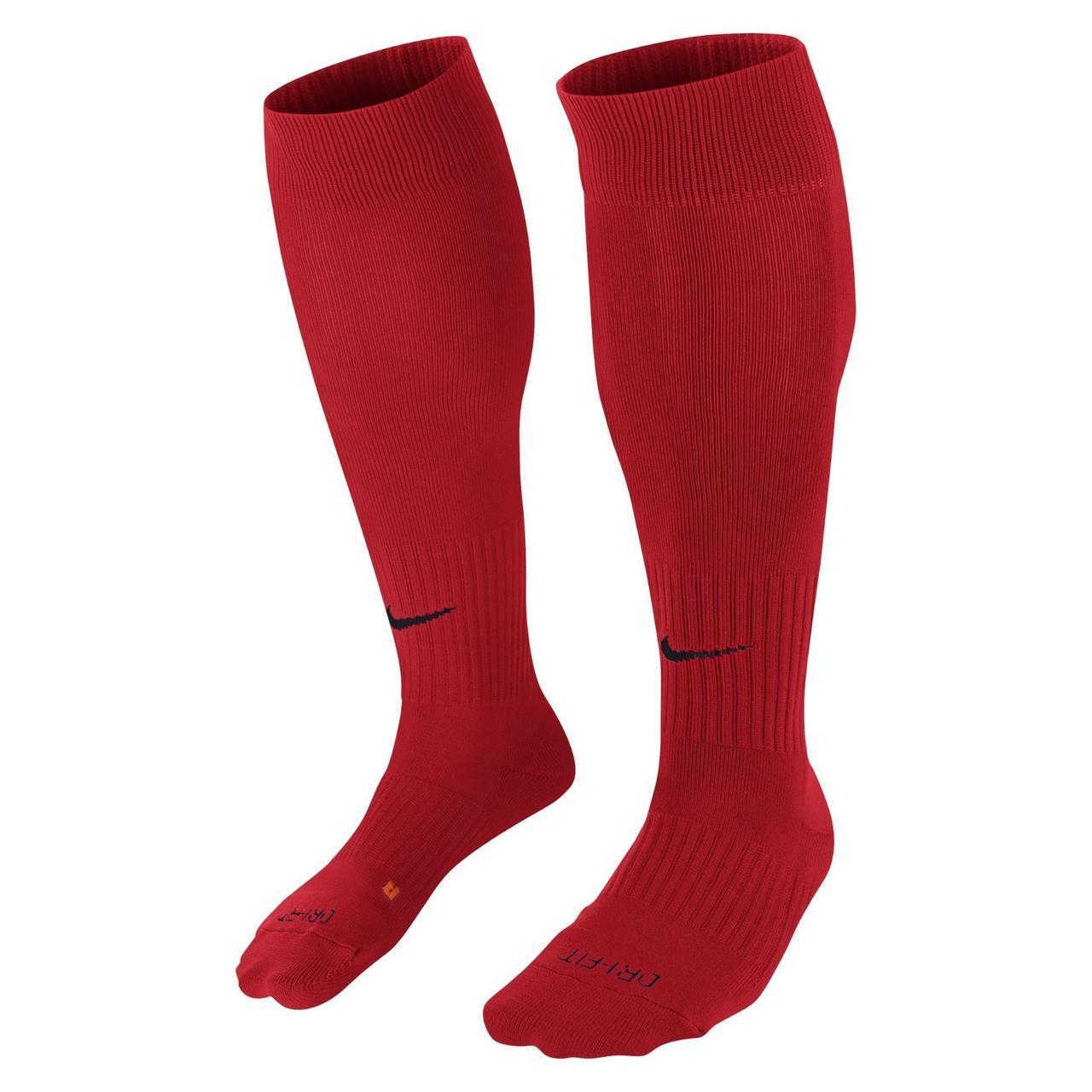 Гетры футбольные Nike Classic II Cushion SX5728-657 Красный M (38-42) (091209577851)