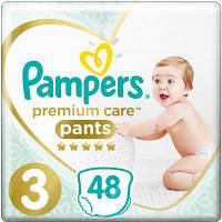 Подгузник Pampers Premium Care Pants Midi Размер 3 (6-11 кг), 48 шт. (8001090759795), фото 1