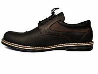 Rosso Avangard BS Winterprince Street большие черные полуботинки мужские кожаные 50 размер, фото 1