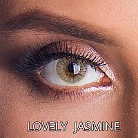 Цветные линзы ЛЮКС качество Rainbow Lovely Jasmine Турция