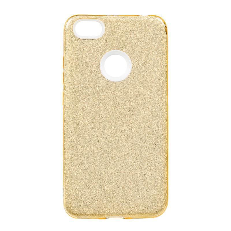 Чехол Remax Glitter Silicon Case Huawei P Smart Plus/Nova 3i Gold