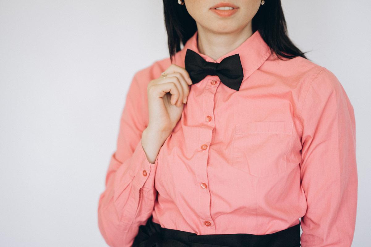Краватка офіціанта Метелик Vsetex | Бабочка
