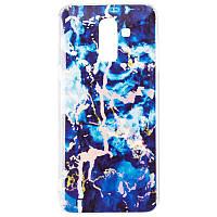 Чехол Baseus Mramor Shine Case for Samsung J810 (J8-2018) Blue