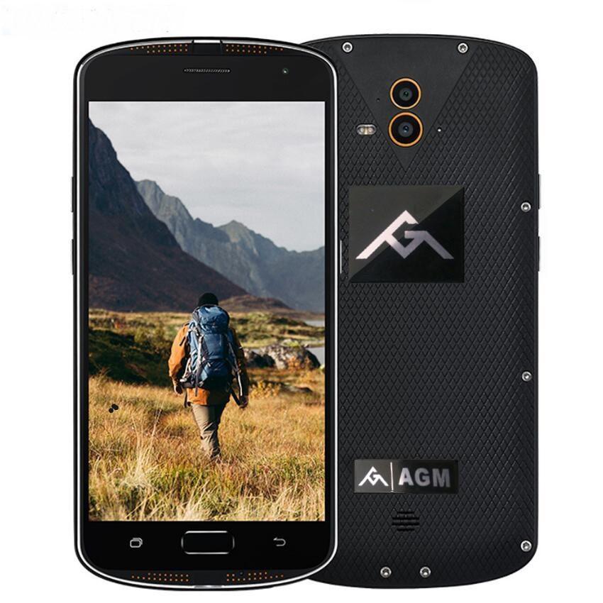 Защищенный AGM X1 black (4+64GB)