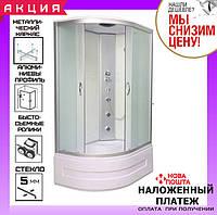 Гидромассажный бокс 120*85 см AquaStream Junior 128 HW без электроники правосторонний
