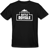 "Футболка Fortnite Battle Royale ""Logo"" (чёрная)"
