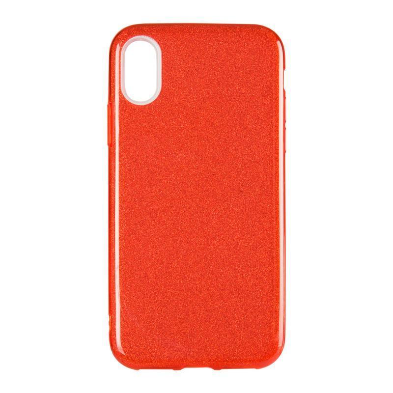 Чехол Remax Glitter Silicon Case iPhone XS Max Red