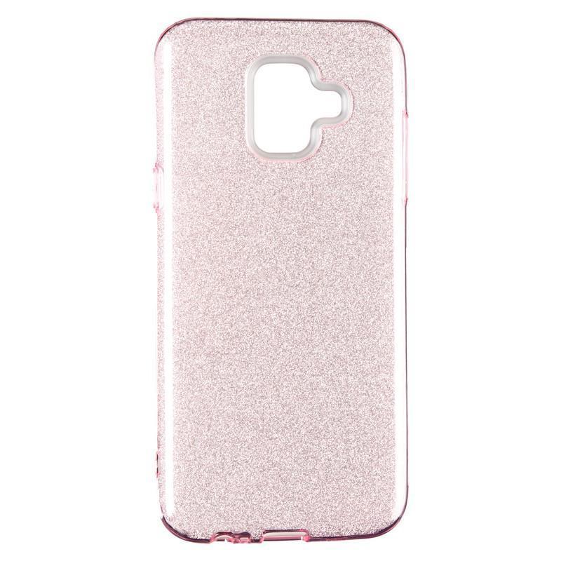 Чехол Remax Glitter Silicon Case Samsung J415 (J4 Plus) Pink