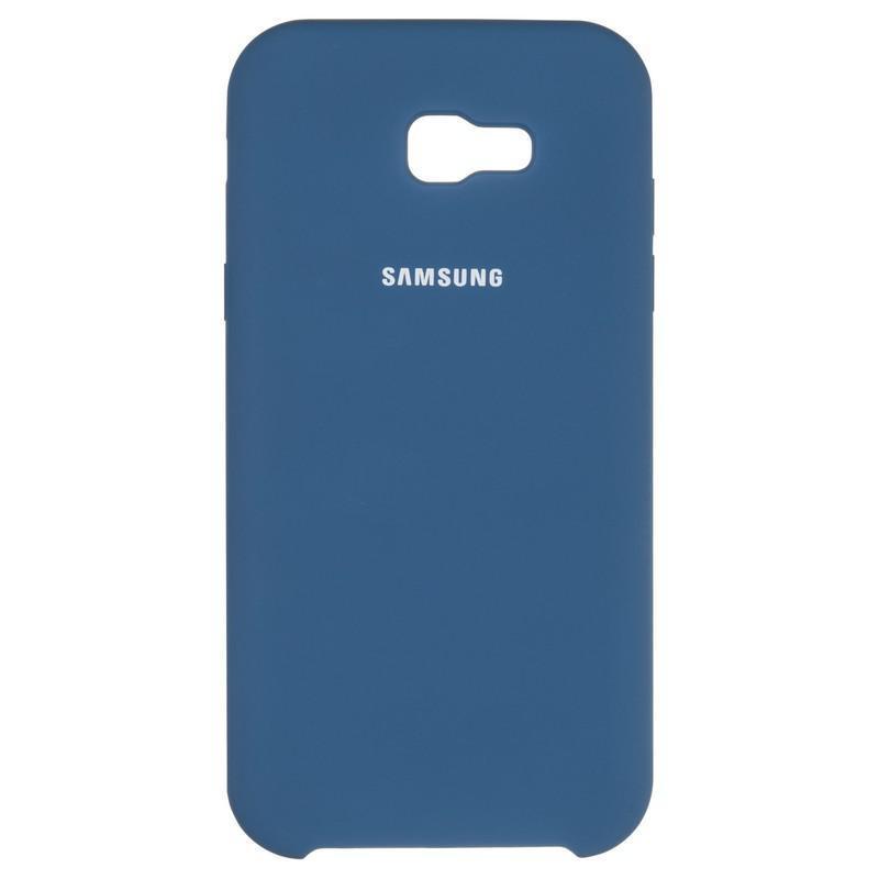 Чехол Original Soft Case Samsung A750 (A7-2018) Dark Blue (20)