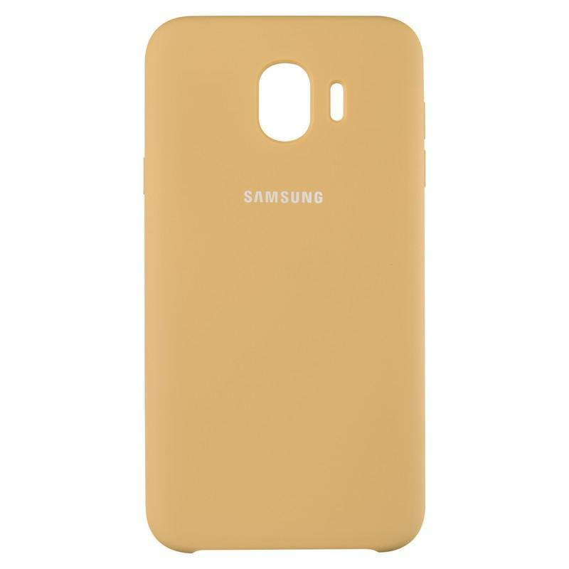 Чехол Original Soft Case Samsung A750 (A7-2018) Gold (28)