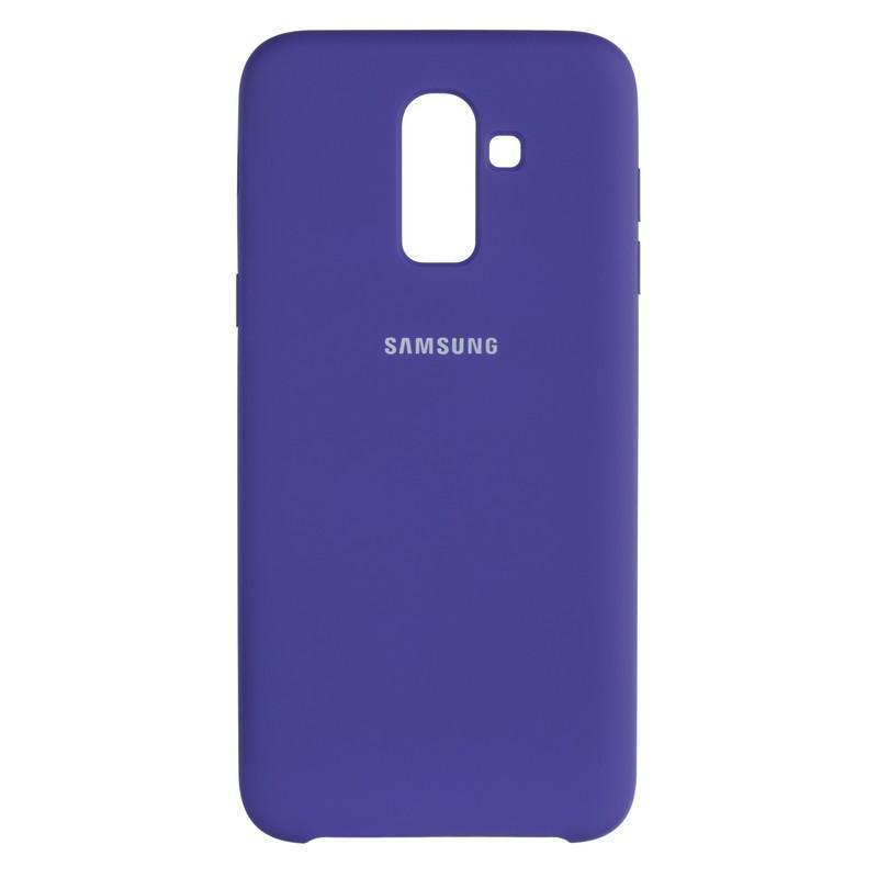 Чехол Original Soft Case Samsung A750 (A7-2018) Violet (36)