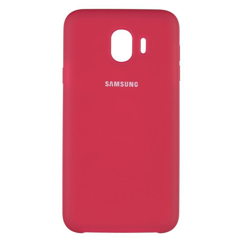 Чехол Original Soft Case Samsung J415 (J4 Plus) Bordo (42)