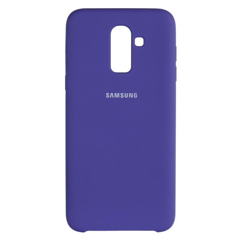 Чехол Original Soft Case Samsung J610 (J6 Plus) Violet (36)