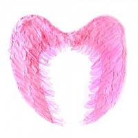 Крылья Ангела Большие 40х60 см (розовые), Крила Ангела Великі 40х60 см (рожеві), Маскарадные крылья