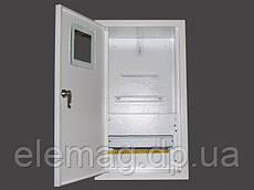 Шкаф под  электронный  счетчик+12 автоматов внутренний