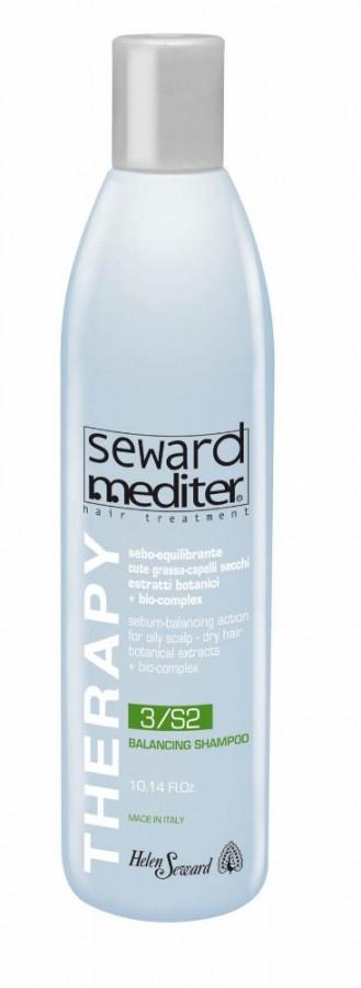 Балансирующий шампунь 300 мл для окрашенных волос Helen Seward Mediter Therapy Balancing Shampoo 3/S2