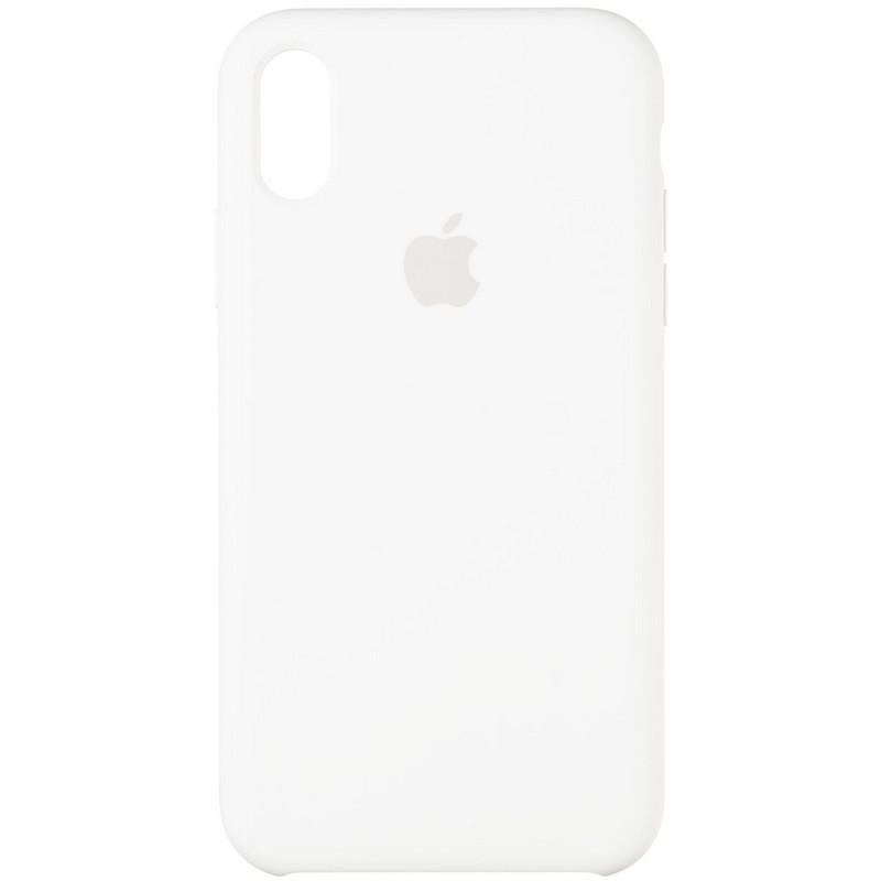Чехол Original 99% Soft Matte Case for iPhone XR White